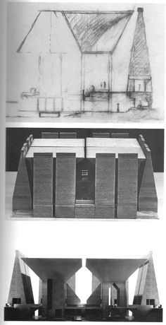 Wellspring of Ruins: Louis Kahn, Ruins, and the Hurva Architecture Concept Drawings, Architecture Images, Religious Architecture, Amazing Architecture, Contemporary Architecture, Interior Architecture, Classical Architecture, Landscape Architecture, Louis Kahn