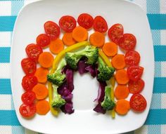 Eat a veggies rainbow
