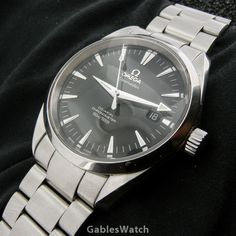 Omega Seamaster Aqua Terra Co-Axial Chronometer 2500 39mm Steel Men's Watch