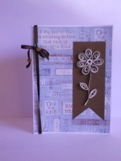 Handmade card - Quilling