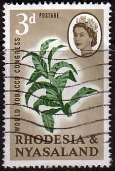 Rhodesia and Nyasaland 1963 World Tobacco Congress SG 43 184 For Sale Take A LOOK