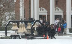 Bells ring for Sandy Hook shooting victims