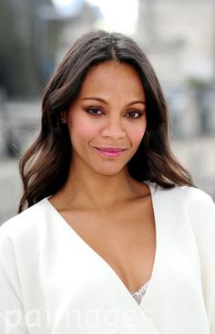 Zoe Saldana attending a photocall for new film Guardians Of The Galaxy at the Corinthia Hotel in London.