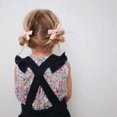 """""""our hair e v e r d a y this fall. #schoolgirlbows [cotton candy pink]…"""