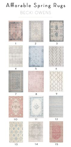 Splurge and Save Flush Mounts - Becki Owens Inexpensive Area Rugs, Small Area Rugs, Carpet Styles, Cool Rugs, Modern Rugs, Rugs In Living Room, Vintage Rugs, Rugs On Carpet, Home Accessories