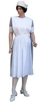 Vintage student nurse uniform