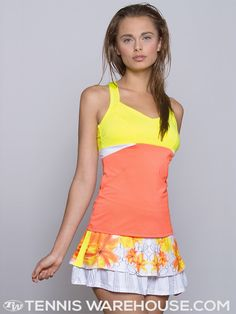 Lucky in Love Petal Cami and Graphic Skort