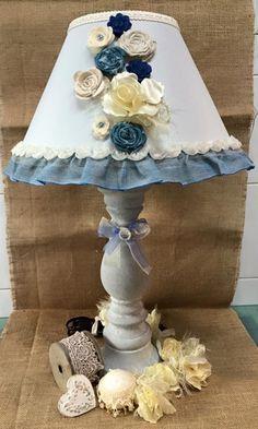 lampada toni azzurro