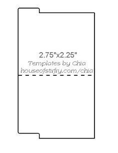 Free download - mini file folder template | Paper Crafts ...