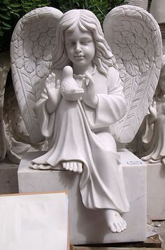 Stone / Marble Children, Cupids, Angels-Children,Cupids,Angels-Statues-STONE CARVING PRODUCTS-HEBEI STONEKING SCULPTURE FACTORY-Marble sculpture,Cast Iron Garden Decoration,China Stone Carving
