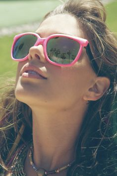 cool pink sunglasses