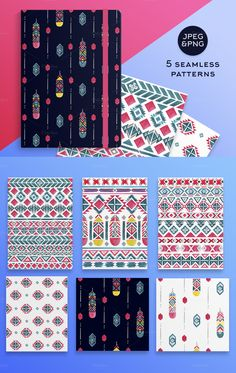 Watercolor Ethnic Set (DIY PACK) - Illustrations - 4