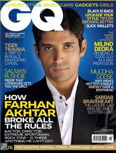Farhan on GQ 2009.♛ ♛~✿Ophelia Ryan ✿~♛