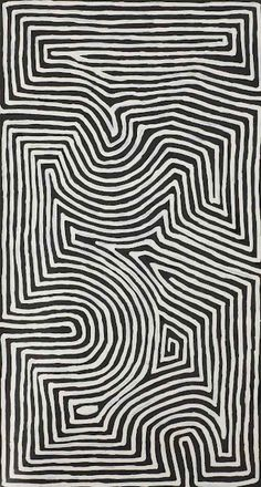 chaotic patterns in black and white