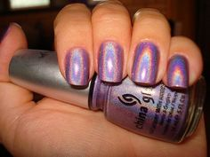 these are cool China Glaze Nail Lacquers #chinaglaze #OPI @opulentnails over 12,000 pins