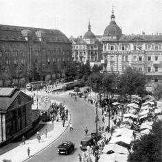 Blick vom KaDeWe auf den Wittenbergplatz