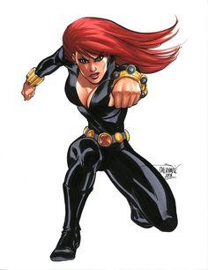 Black widow by scott dalrymple comic book girl, comic book style, comic boo Marvel Dc, Marvel Women, Marvel Girls, Comics Girls, Disney Marvel, Comic Book Girl, Comic Book Style, Comic Books, Art Clipart