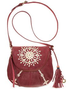 Lucky Brand Casbah Embroidered Crossbody