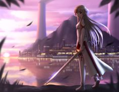 Anime Sword Art Online Anime Sword Asuna Yuuki Wallpaper