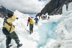 Go heli hiking on Franz Josef or Fox Glaciers, West Coast