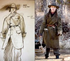 Mary Zophres designs nominated for the film True Grit.