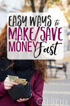 Great ideas to make money fast! I'm trying to find ways to make money from home and get some side hustle ideas. This was full of them. These are more ways to make a bunch of money quickly rather than start a business or a career, but definitely helpful.