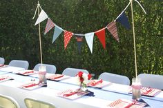 Nautical Crab Baby Shower | CatchMyParty.com