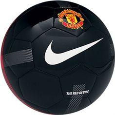 3% off of your order over $100! Nike Manchester United Supporter Soccer Ball (Black/White) #soccercorner