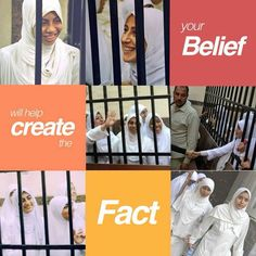 What happens in Egypt when you say what you believe in