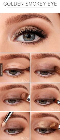 Lulus How-To: Golden Smokey Eyeshadow Tutorial