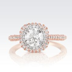 Isn't this double-halo engagement ring just gorgeous?! #ShaneCo #ShaneCoSparkle