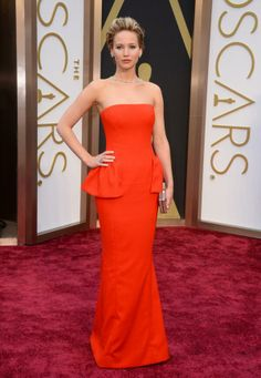 Jennifer Lawrence #oscars #dior