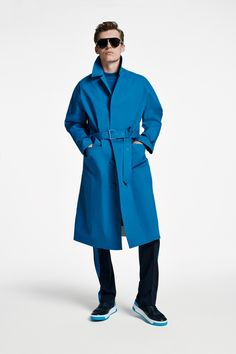 The BOSS Menswear Spring/Summer 2020 collection Hugo Boss Man, Suit Fashion, Modern Man, Smart Casual, Knitwear, Menswear, Spring Summer, Suits, Coat