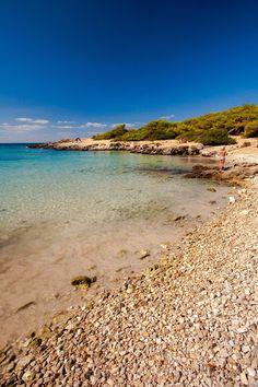 Una riva quasi ciottolosa, scogliere basse e acque trasparenti per questo scorcio di Porto Selvaggio, marina di Nardò.  http://www.nelsalento.com/guide/nardo/portoselvaggio-marina-di-nardo.html