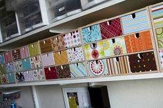 Eco-Hack: decoupage Ikea Fira Wooden Drawers
