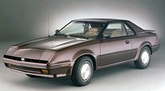 Carsthatnevermadeitetc — Ford EXP Styling Concept, 1981. A prototype for...