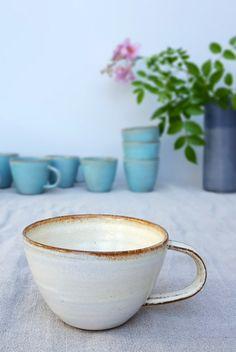 Cappuccino-Tasse aus Keramik