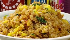 Thai Pineapple Fried Rice #recipe by Steven Valenti