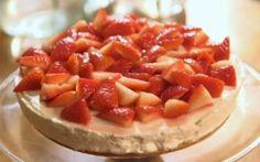 Vanilla Cheesecake Recipe by Lisa Faulkner : Food Network UK