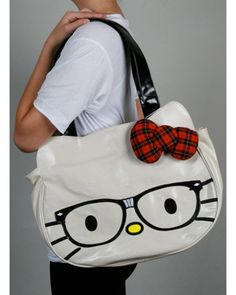 Hello Kitty Nerd Face Bag
