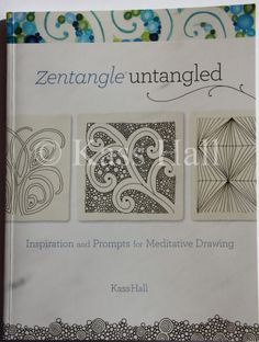 This is one of the best Zentangle books! Written and compiled by my good CZT friend, Kass Hall. It gets my personal recommendation. If you can only buy one Zentangle book, make it this one. When you purchase through this link, Kass will get compensated...win-win!