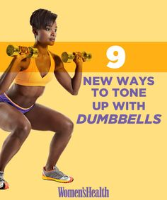 9 New Ways to Tone Up with Dumbbells