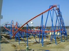 Superman - Ultimate Flight at Six Flags Great Adventure in Jackson, New Jersey