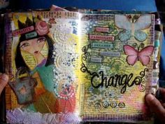My journal flip