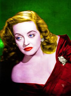 Bette Davis - All About Eve - Pop Art great photo of one of the greats