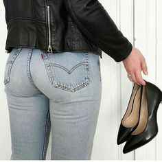 Sexy Jeans, Curvy Jeans, Jeans Fit, Denim Jeans, Skinny Jeans, Pinup Photoshoot, Curvy Girl Fashion, Teenager Outfits, Girls Jeans