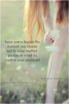 Inner #peace  - #quote
