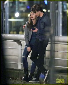 Chloe Moretz & Co-Star Jamie Blackley for 'If I Stay'