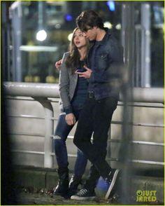 Chloe Moretz & Co-Star Jamie Blackley for 'If I Stay'