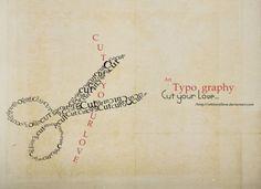 Typography by whiteRo0ose 550x400 47 Amazing Typography Inspirations